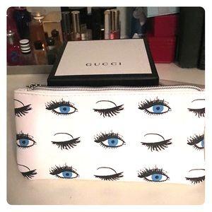 NWT! Eye 👁 ball makeup pouch